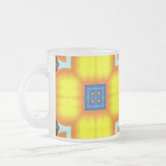 Big Blossom Frosted Mug