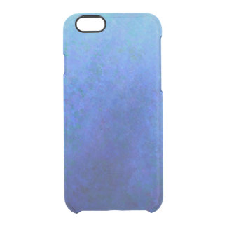 Big Blue Clear iPhone 6/6S Case