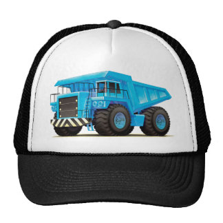 Big Blue Dump Truck Trucker Hat