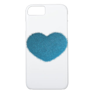 Big Blue Heart. iPhone 8/7 Case