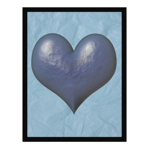 Big Blue Heart of Stone Flyer