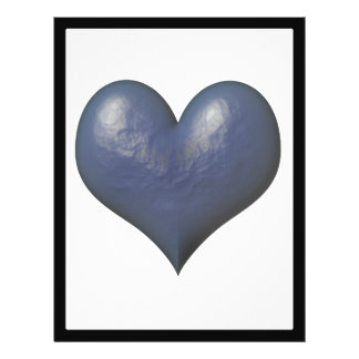 Big Blue Heart of Stone Full Color Flyer