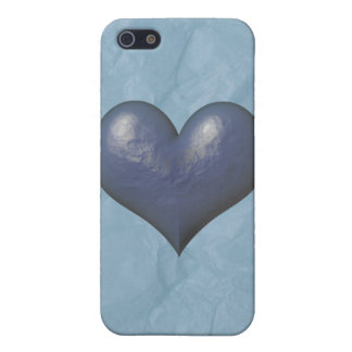 Big Blue Heart of Stone iPhone 5 Cases