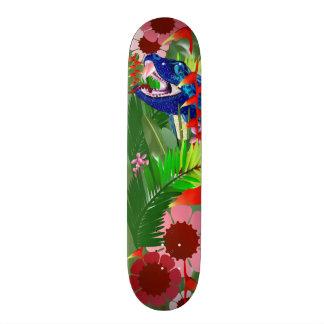 Big Blue Jungle Snake 21.6 Cm Old School Skateboard Deck