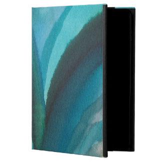 Big Blue Leaf I iPad Air Covers