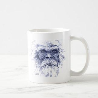 Big Blue Sasquatch Coffee Mug