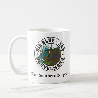 Big Blue, The Southern Serpent Coffee Mug