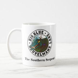 Big Blue The Southern Serpent Coffee Mugs