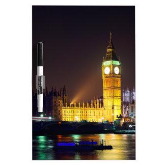 Big Bn on London River Dry Erase Board