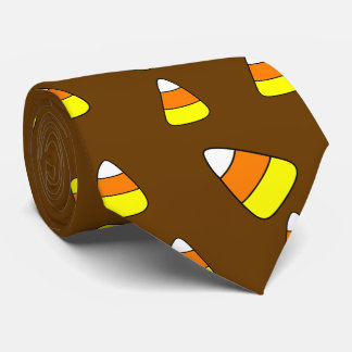 Big Bold Candy Corn Tie