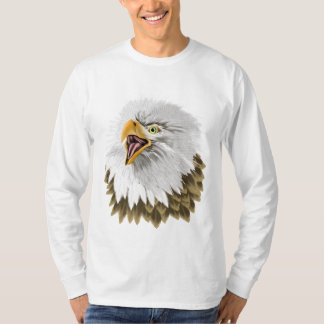 Big,Bold Eagle Head  Shirt