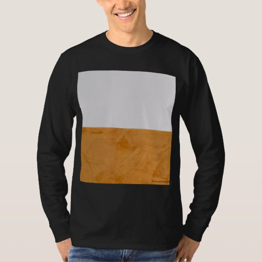 Big Bold Graphic Orange & White T-Shirt
