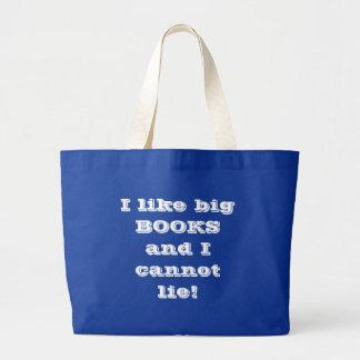 Big Books Large Tote Bag