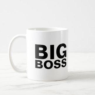 BIG, BOSS COFFEE MUG