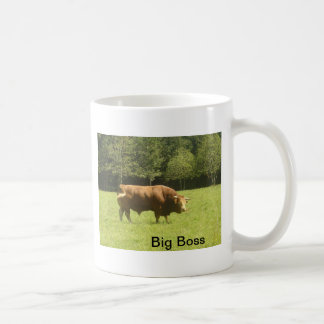 Big Boss - Limousin Bull Coffee Mug