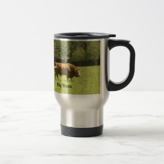 Big Boss - Limousin Bull Travel Mug