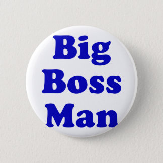 Big Boss Man 6 Cm Round Badge