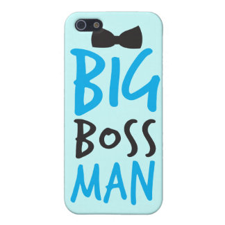 Big boss man nice Bossy design with a bow tie iPhone 5/5S Cases