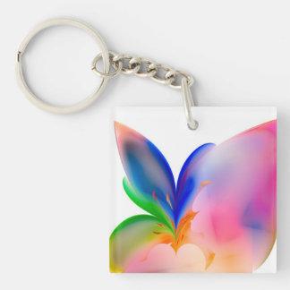 Big Bow Gift Box Key Ring