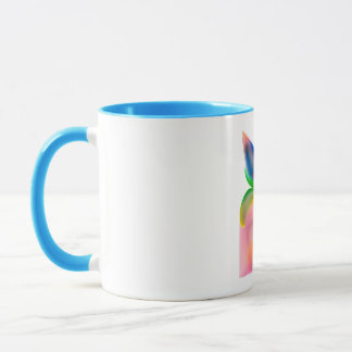 Big Bow Gift Box Mug
