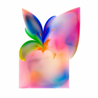 Big Bow Gift Box Photo Sculpture Magnet
