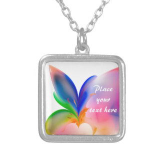 Big Bow Gift Box Silver Plated Necklace