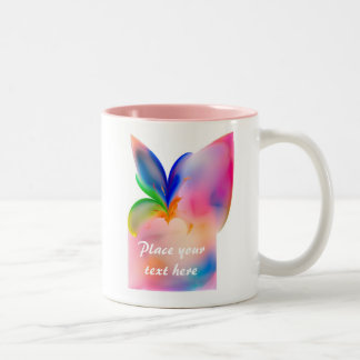 Big Bow Gift Box Two-Tone Coffee Mug