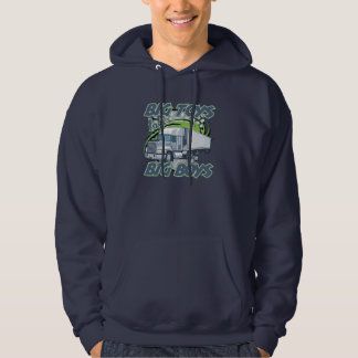 Big Boy Trucking Hoodie Sweatshirt for Working Men
