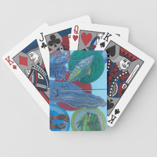 Big boys bicycle playing cards