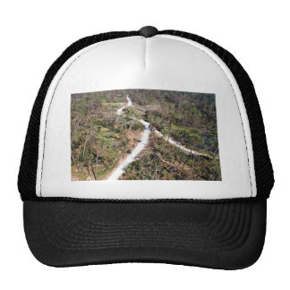 Big Branch Marsh National Wildlife Refuge before/a Mesh Hat