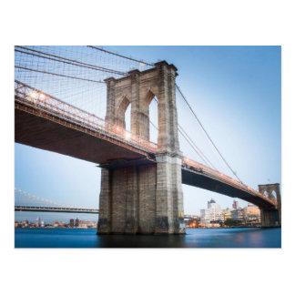 Big Bridge in New York Postcard