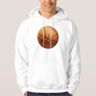 Big Bright Orange Basketball, Hoodie