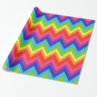Big Bright Rainbow Wrapping Paper