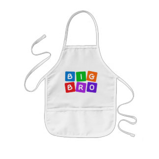 Big Bro apron – choose style & color