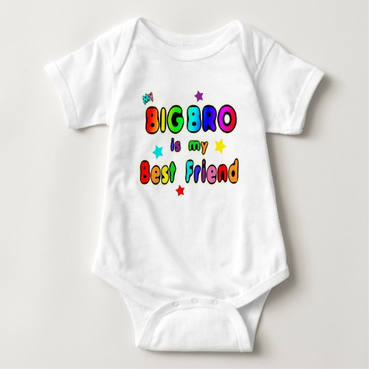 Big Bro Best Friend Baby Bodysuit