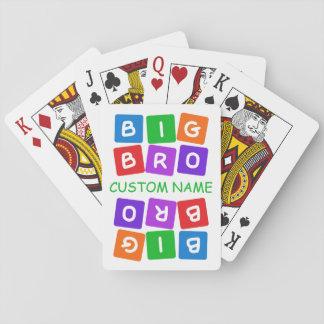Big Bro custom playing cards