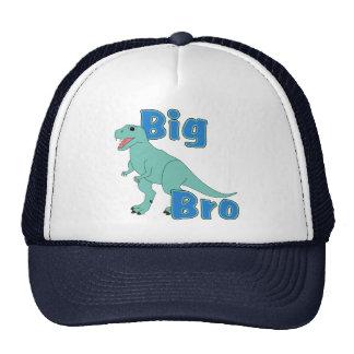 Big Bro Green Dinosaur Trucker Hat
