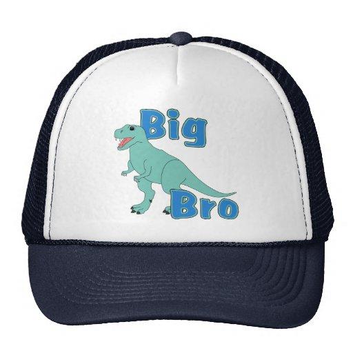 Big Bro Green Dinosaur Mesh Hats