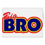 Big Bro Greeting Card