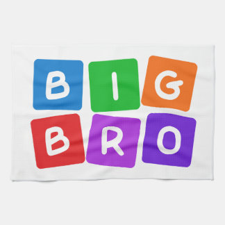 Big Bro hand towel