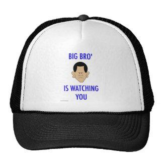 big bro' is watching you obama trucker hat