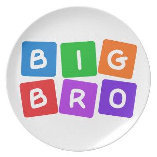 Big Bro plate