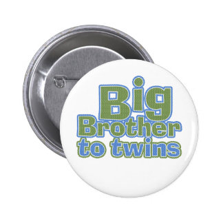 Big Bro - Twins 6 Cm Round Badge