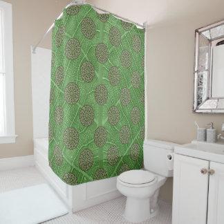 Big Broad Leaf Shower Curtain