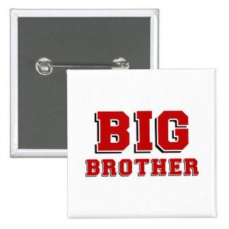 BIG Brother 15 Cm Square Badge