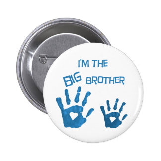 Big brother 6 cm round badge
