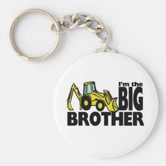 Big Brother Backhoe Key Ring