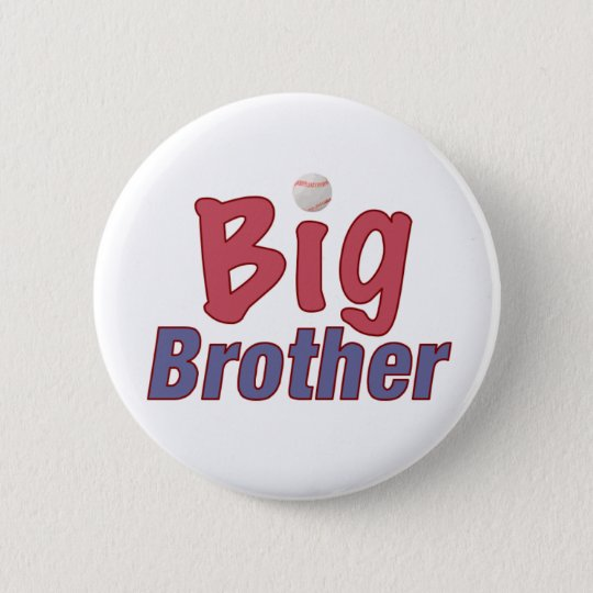 Big Brother (baseball) 6 Cm Round Badge