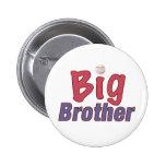 Big Brother (baseball) Pinback Buttons