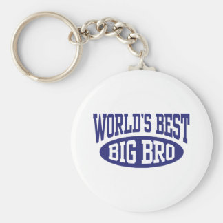 Big Brother Basic Round Button Key Ring
